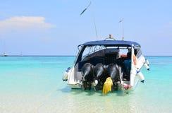 Prędkości łódź Zdjęcie Stock