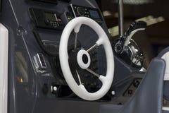 Prędkości łodzi rudder Fotografia Stock