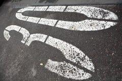Prędkości ograniczenie na drodze Zdjęcie Royalty Free