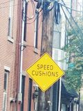 Prędkości poduszka? zdjęcie stock