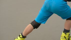 Prędkości rollerblade hobby chłopiec sztuczki ufna rampa zbiory