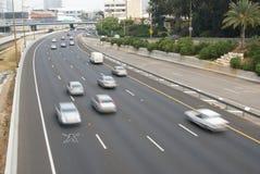 prędkości ruch drogowy Fotografia Royalty Free