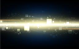 Prędkości technologii networking projekta pojęcia cyfrowy tło zdjęcie stock