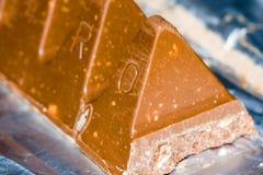 prętowa czekolady obrazy stock