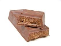 prętowa czekolady Fotografia Royalty Free