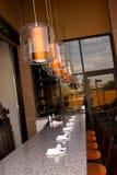 prętowa salowa plenerowa restauracja Obrazy Royalty Free