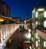Prętowa Ulica noc widok Zdjęcie Stock