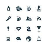 Prętowe ikony ustawiać Zdjęcie Stock