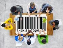 Prętowego kodu metki Merchandise pojęcie Fotografia Royalty Free