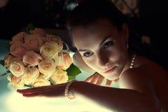 prętowej panny młodej następny obsiadanie zdjęcia royalty free