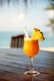 prętowej plaży koktajl fotografia stock