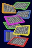 Prętowi kody. royalty ilustracja