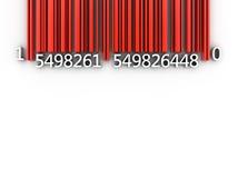 Prętowy kod Fotografia Stock