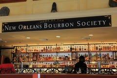 Prętowy sceny ustawianie, Nowy Orlean bourbonu społeczeństwo, 2016 Obraz Royalty Free