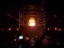 Prętowy tawerny żarówki światło Obraz Stock