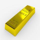 prętowy złoto Fotografia Stock