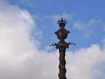 Pręgierz katedra Sé - Porto Obrazy Royalty Free