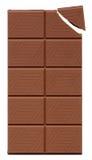 prętowa czekolady Fotografia Stock