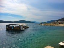 Prętowa wyspa w Croatia Fotografia Royalty Free
