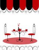 Prętowego restauracyjnego holu kawowa kobiet Ilustracja ve Obrazy Royalty Free