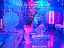 prętowy jegbar Budapest lodowy Zdjęcie Stock