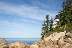 Prętowy schronienie w Acadia parku narodowym Obrazy Royalty Free