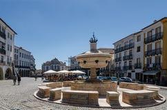 Praça do Giraldo Royalty Free Stock Image