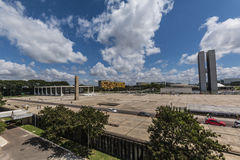 Praça dos Três Poderes- Brasília - DF - Brazil Royalty Free Stock Image