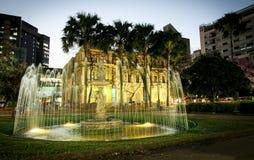 Praça da Liberdade (Liberty Square) Fotografering för Bildbyråer