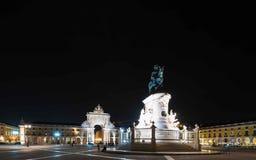 Praça font Comércio - Lisbonne Photos libres de droits