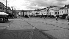 Praça da cidade Fotos de Stock Royalty Free