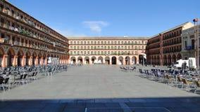 Praça da cidade, Córdova, Espanha Imagens de Stock