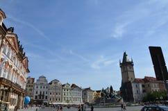 Praça da cidade de Praga Imagens de Stock