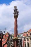 Praça da cidade de Swidnica, Polônia Fotos de Stock Royalty Free