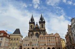 Praça da cidade velha Imagem de Stock