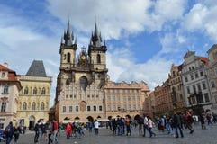Praça da cidade velha Foto de Stock