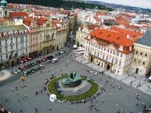 Praça da cidade velha Fotos de Stock Royalty Free
