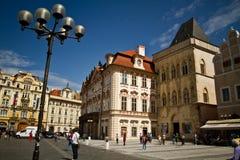 Praça da cidade velha Imagens de Stock Royalty Free