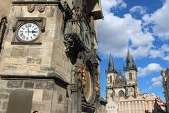 Praça da cidade velha Imagens de Stock