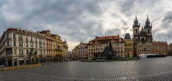 Praça da cidade velha em Praga, república checa imagem de stock royalty free