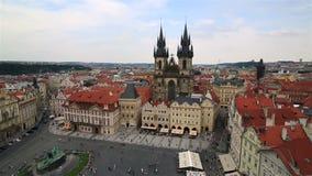 Praça da cidade velha em Praque filme