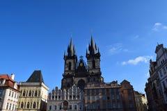 Praça da cidade velha, Praga Imagem de Stock Royalty Free
