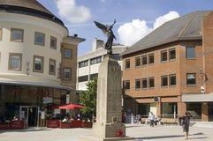 Praça da cidade, Woking, Surrey Fotografia de Stock