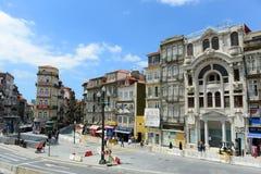 Praça de Almeida Garrett, Oporto, Portogallo Immagine Stock
