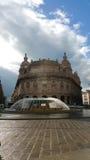 Praça De Ferrari, Genoa, Itália Fotografia de Stock Royalty Free