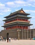 Praça de Tiananmen em Beijing, China Fotografia de Stock