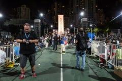 A Praça de Tiananmen protesta o evento em Hong Kong Fotos de Stock