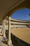 Praça de touros de Ronda - plaza de toros Fotografia de Stock