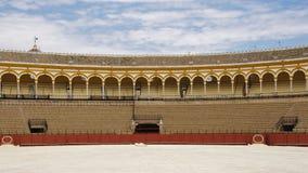 Praça de touros de Sevilha Foto de Stock Royalty Free