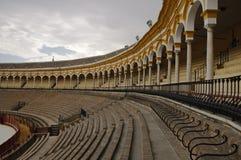 Praça de touros de Sevilha Fotografia de Stock